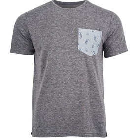 United By Blue Standard Printed Pocket SS Tee Herrer, mountain ash